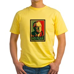 FDR - No Fear Yellow T-Shirt