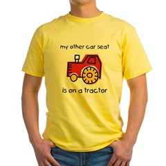 My Car Sea Yellow T-Shirt