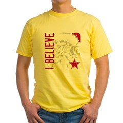 I Believe Yellow T-Shirt