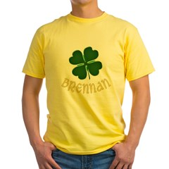 Irish Brennan Yellow T-Shirt