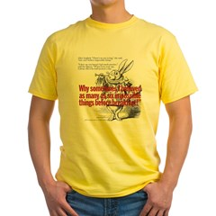 Impossible Things Yellow T-Shirt