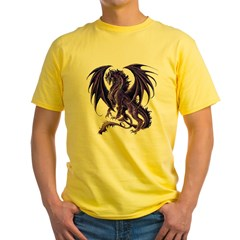 Draconis Nox Dragon Yellow T-Shirt