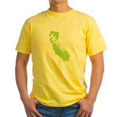 Home - California Yellow T-Shirt
