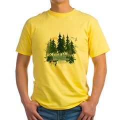 Twilight Forks WA Yellow T-Shirt