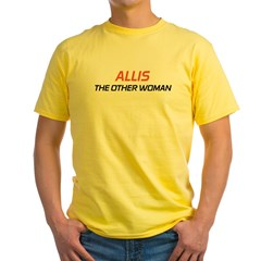 Allistheotherwoman1 Yellow T-Shirt