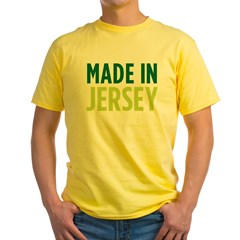 made_jersey_square Yellow T-Shirt