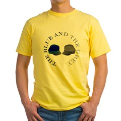 Blue and Grey Yellow T-Shirt