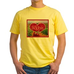 Sophia Yellow T-Shirt