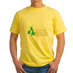 CelticProud_Isles_T10x10 Yellow T-Shirt