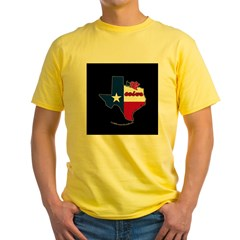ILY Texas Yellow T-Shirt