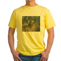 deer1001 Yellow T-Shirt
