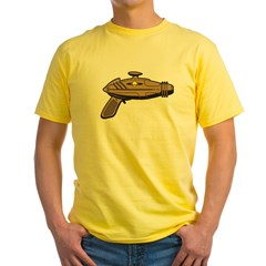 Brown Ray Gun Yellow T-Shirt