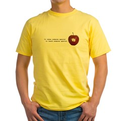 Autism Teacher Yellow T-Shirt
