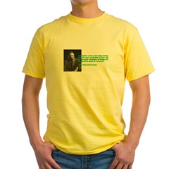 Keynesian Yellow T-Shirt