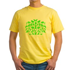 Green Monsters - Sheldon's Yellow T-Shirt
