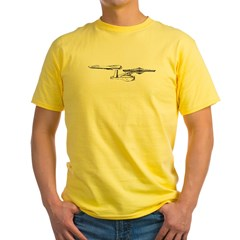 USS Enterprise Yellow T-Shirt