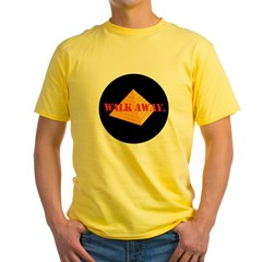 Walk Away Yellow T-Shirt