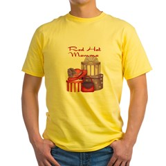 Red Hat Grey Yellow T-Shirt
