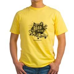 SUPERNATURAL The Road black Yellow T-Shirt