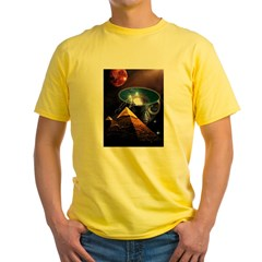 Ancient Aliens Yellow T-Shirt