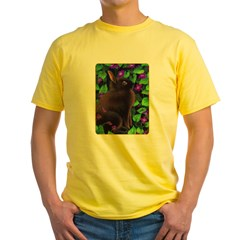 Bunny & Violets Yellow T-Shirt