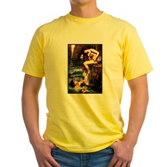 Best Seller Merrow Mermaid Yellow T-Shirt