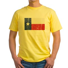 Texas_shirt_dark Yellow T-Shirt