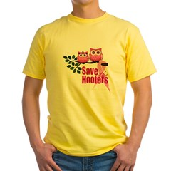 Hooters 2 Yellow T-Shirt