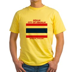CIty of Squala Yellow T-Shirt