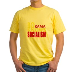 Barack Obama Knows Socialism Yellow T-Shirt
