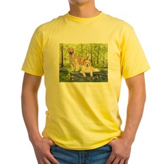 Golden Pair Yellow T-Shirt