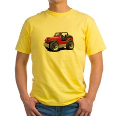 Jeep Red Yellow T-Shirt