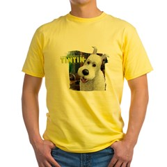 Snowy Yellow T-Shirt