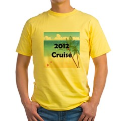 Cruise 2012 Yellow T-Shirt