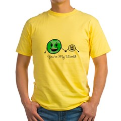 You're My World Yellow T-Shirt