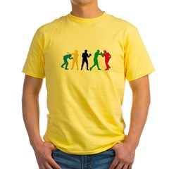 Boxing Yellow T-Shirt