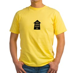 BKLYN STAND UP W/ BLACK SLEEVES Yellow T-Shirt