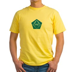 KOTN Traditional Logo Yellow T-Shirt