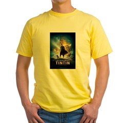 Tintin Movie Yellow T-Shirt