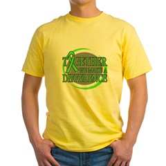 Non-Hodgkins Lymphoma Support Yellow T-Shirt
