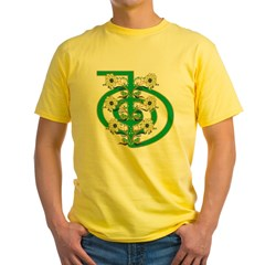 Cho Ku Rei Power Yellow T-Shirt