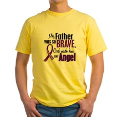 Angel 1 Pancreatic Cancer Yellow T-Shirt
