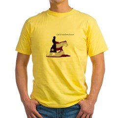 freedom rein Yellow T-Shirt