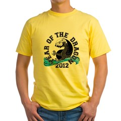 YTWD Black Circle Yellow T-Shirt