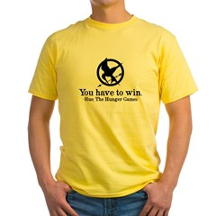 Rue - The Hunger Games Yellow T-Shirt