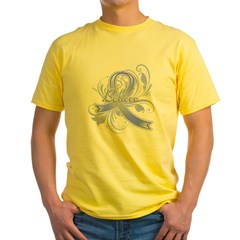 Stomach Cancer Believe Yellow T-Shirt