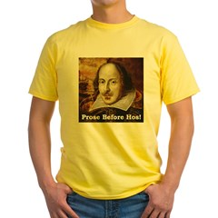 Prose Before Hos Yellow T-Shirt