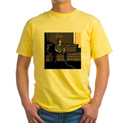 The RPG Fanatic T-Shirt Black Yellow T-Shirt