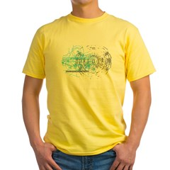 Particle Physics Gives Me A Large Hadron Yellow T-Shirt