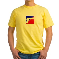 Call of Duty Emblem Gun Yellow T-Shirt